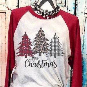2 for $40🎄long sleeve Christmas shirt